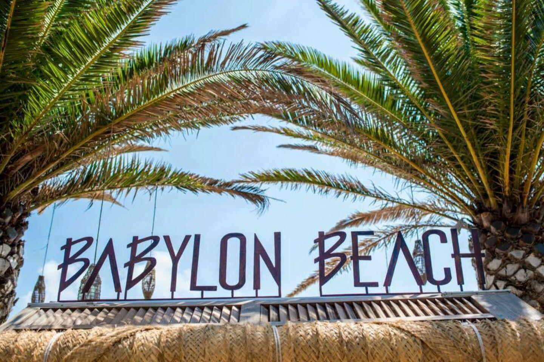 Mojito met aardbeien op Babylon Beach